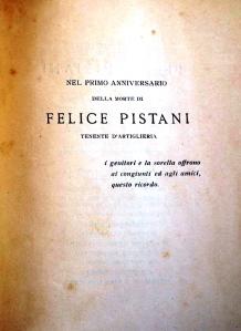 F. Pistani, A memoria di F. Pistani, Tip. L. Parma & C, Bologna
