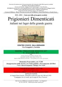 Sorbolo 8-22 nov 2015 - IV novembre - locandina