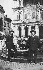 Giuseppe Denti e Angelo Ruozi Incerti (Bergamo 1924)