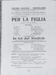 """""""Per la figlia"""" al Teatro Zacconi di Montecchio (RE"""