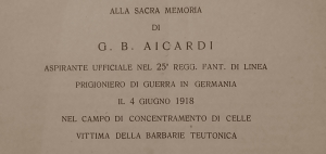 Dedica a G. B. Aicardi