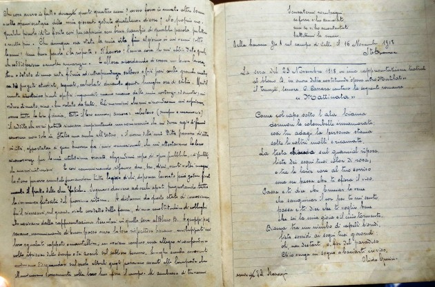 Giacomo Desana,, Diario (Quaderno Cellelager)